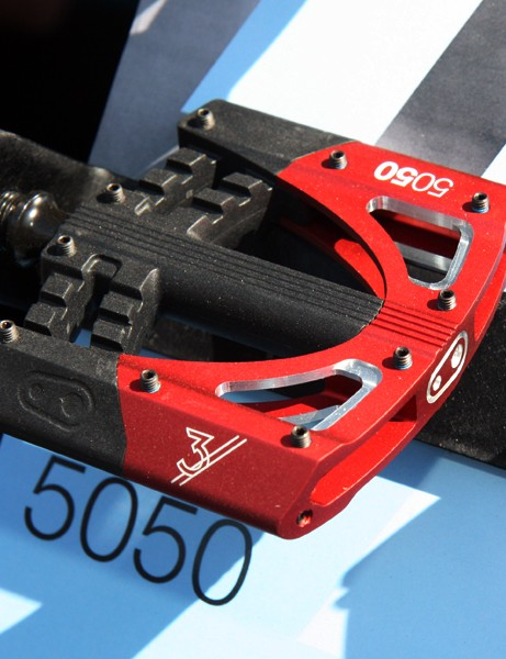 CrankBrothers' top-end 5050 3 gets a new two-piece aluminum and polycarbonate body, a slimmer profile and upgraded seals for 2012