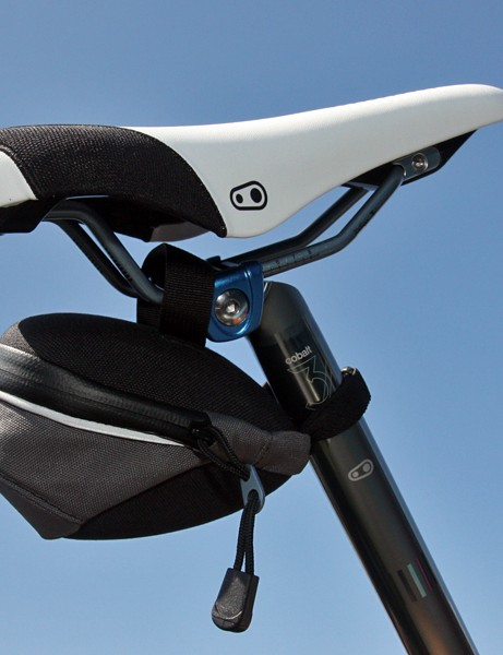 CrankBrothers' new saddle bag features a simple strap arrangement that won't snag your shorts