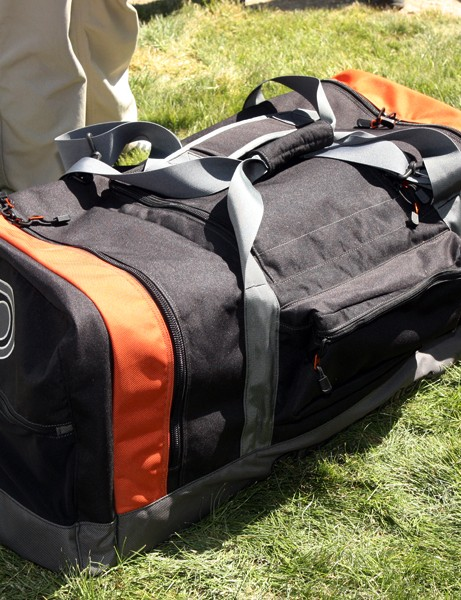 CrankBrothers' new gear bag is seriously large