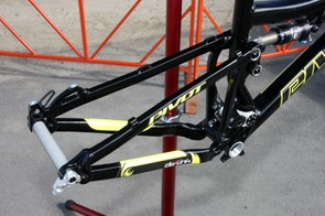 The rear end gets additional bracing for extra stiffness