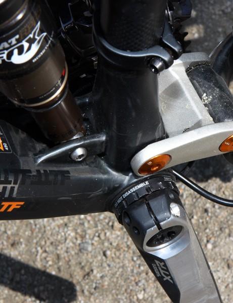 BMC use a standard threaded bottom bracket on their new Trailfox TF01