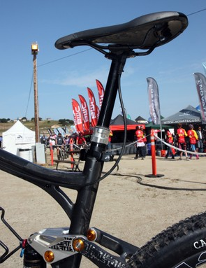 BMC will include a RockShox Reverb seatpost as standard equipment on the new Trailfox TF01