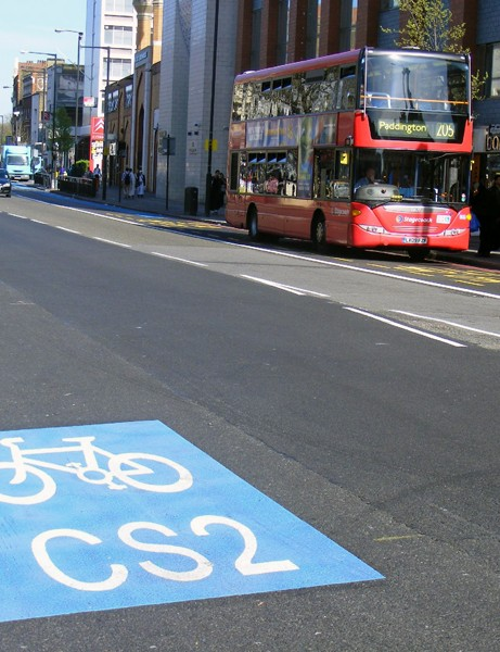 London's latest cycle superhighways are due to open this summer