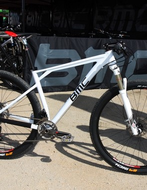 BMC previewed an aluminum 29er prototype at Sea Otter. The hardtail will be joined by a 29in-wheeled 100mm-travel full-suspension platform