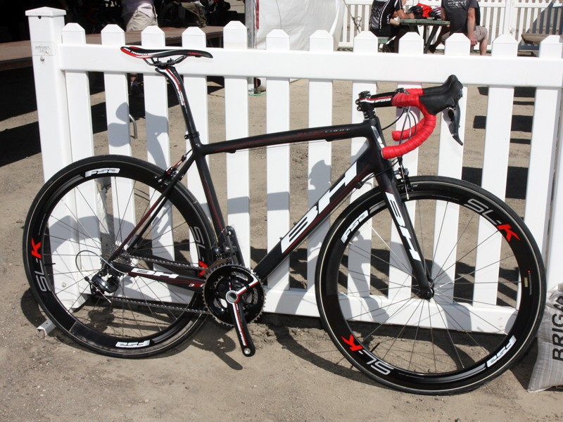 BH's new Ultralight frame weighs just 747g for a painted 56cm size.