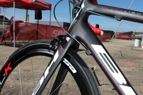 The front end of BH's new Ultralight uses a 1 1/8