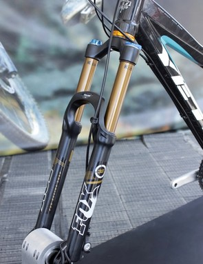The 34 is an all new chassis for 2012 featuring 34mm upper stanchions