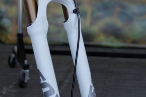 Fox's new Float Ti puts it in competition with the lightest cross-country forks on the market