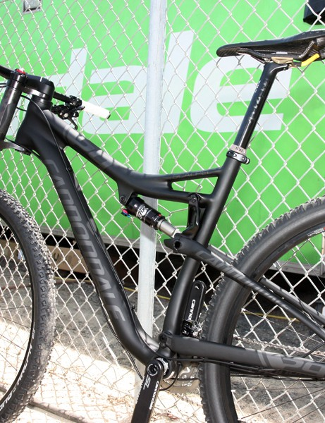 Claimed frame weight for the new Cannondale Scalpel 29 is just 1.9kg (4.19lb) with the Fox Racing Shox RP23 rear shock