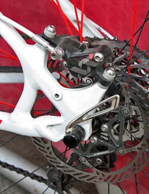 Specialized's upcoming Carve 29in-wheeled alloy hardtail will use post mount brake tabs