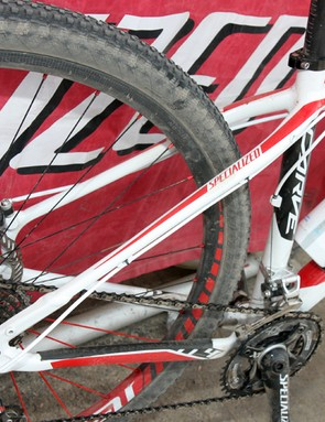 Stay construction and layout is straightforward on Specialized's new Carve alloy 29er hardtail