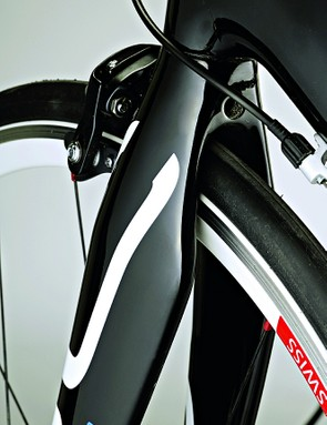 Storck's Stiletto fork helps give impeccable handling