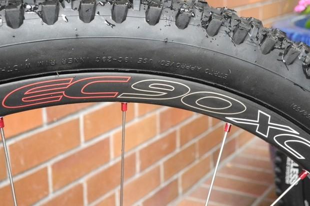 Easton's new EC90XC wheelset