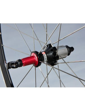 The rear Vision hub uses notably narrow spoke flanges