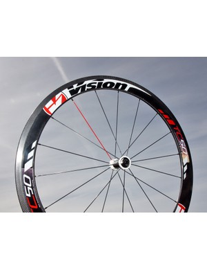 Vision's TriMax Carbon gets a new rim finish and a new name for 2012