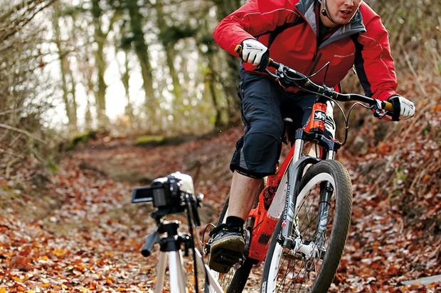 Bikes, camera, action
