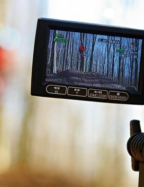 You don't need anything fancy – a basic digital camcorder is fine