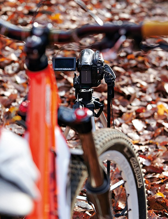 If you're filming by yourself, a tripod will be invaluable