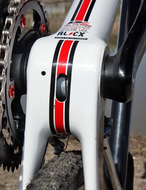 Redline use a BB30 bottom bracket for their new Conquest Carbon frame