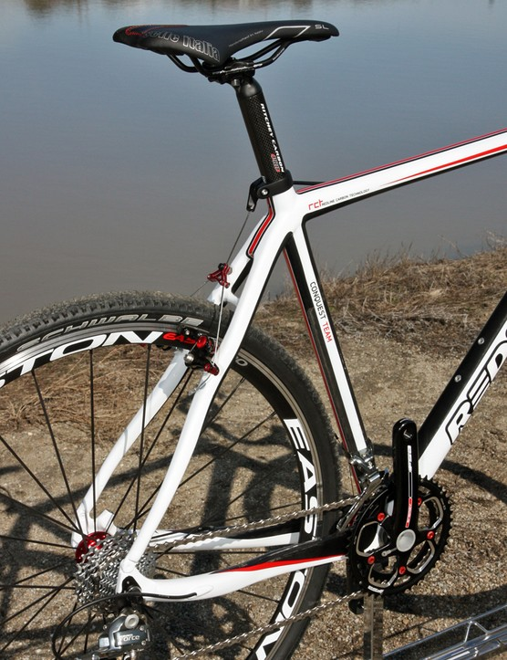 Redline have shortened the chainstays to just 425mm on their new Conquest Carbon