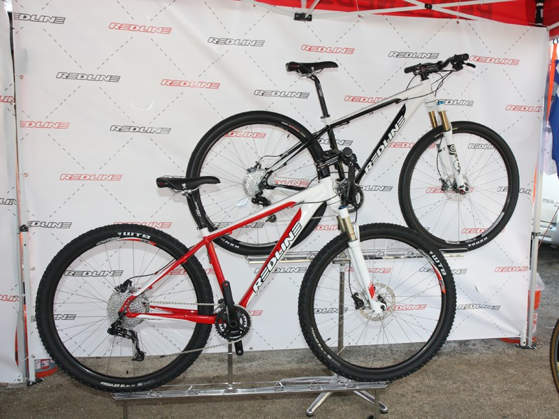 Redline have also updated their 29in-wheeled hardtails for 2012