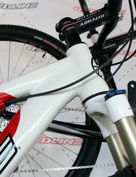 Redline's 29er hardtails get tapered head tubes and gusset-free down tubes for 2012