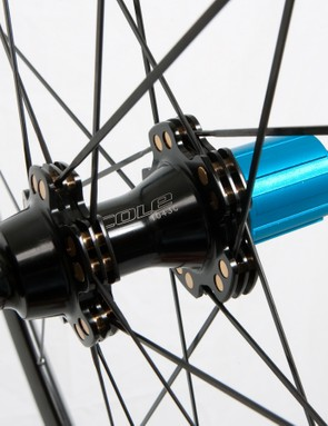 The Dynamic Spoke Allignment system apparently improves tension and strength allowing for better power transfer