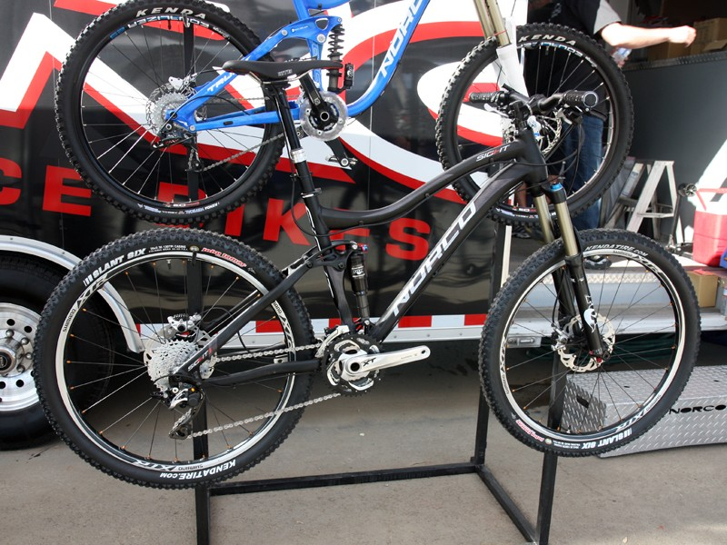 Norco's new Sight trail bike boasts 140mm of travel at either end