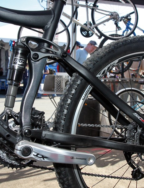 Norco use a true four-bar rear suspension design on the new Sight