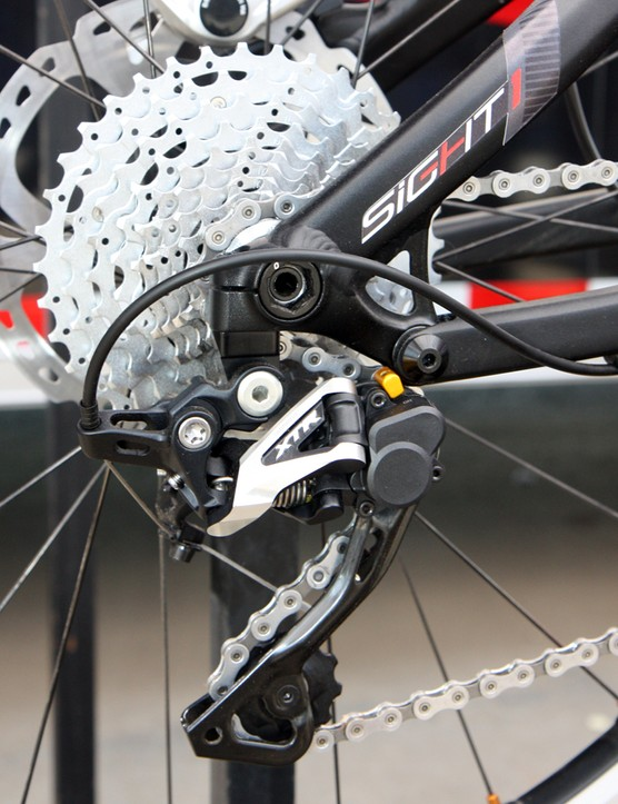 Norco's new Sight uses Syntace's X-12 142x12mm through-axle system