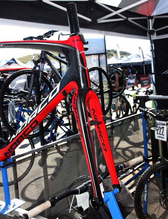 The new Norco Threshold uses a tapered front end