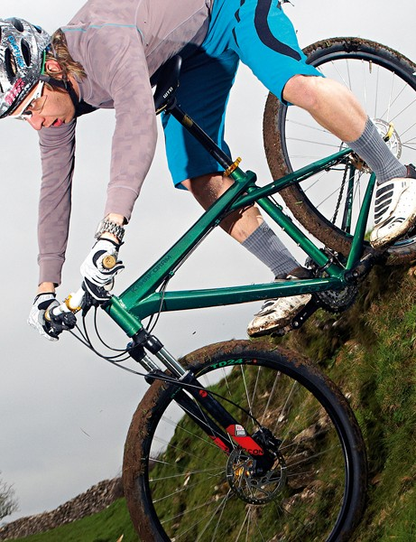 There are lighter 26ers at this price, but we like the easy rolling feel of the Karakoram and it's well equipped