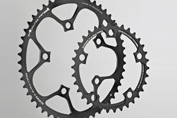 TA Nerius 11x Campag CT chainrings