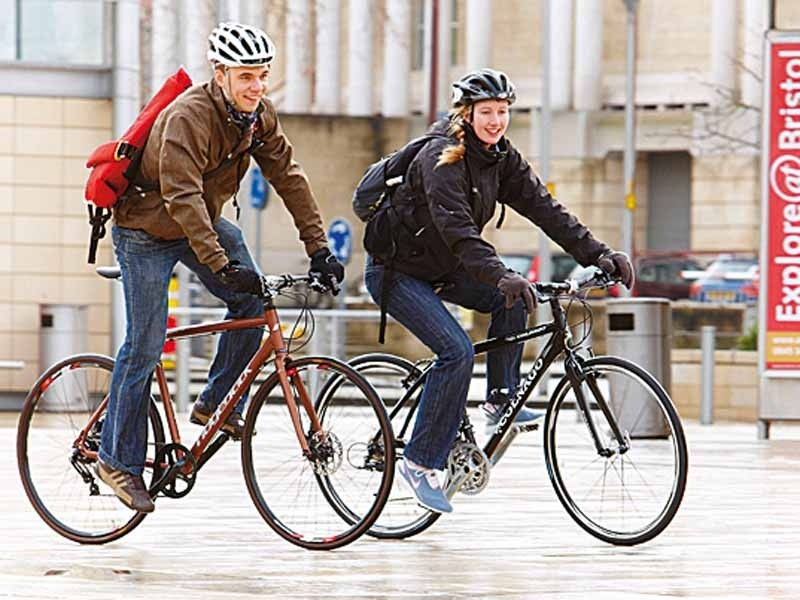 Commuting by bike to work is cheap, quick and gets you fit