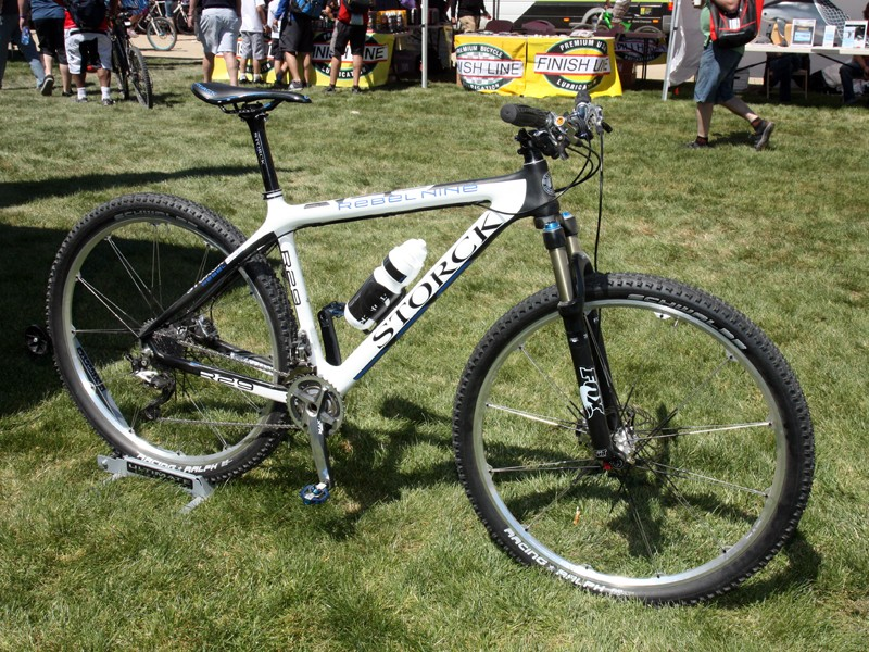 "Storck adds a new carbon fiber 29"" hardtail to their range for 2012."