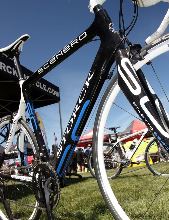 Storck's Scenero road frame has a claimed weight of around 1,100g.
