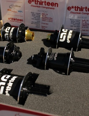 e.thirteen's new hubs for cross-country and all-mountain use