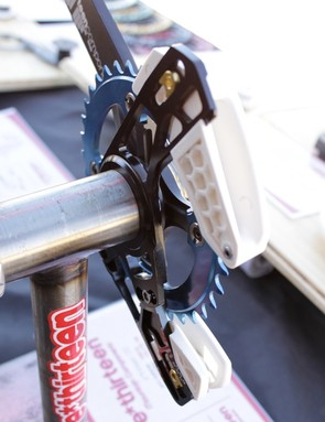 The back of the bottom bracket mounted version of the LG1 Trail