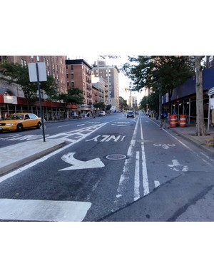 NYC's 9th Ave Cycle Track has made bike commuting safer