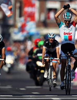 Philippe Gilbert (Omega Pharma-Lotto) was too good again