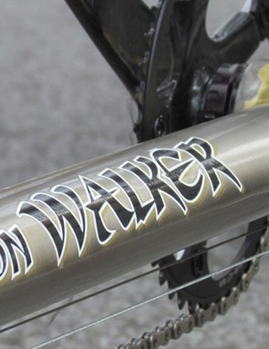 Walker is known for his racing tandems; Impellizzeri's weighs just 24lbs