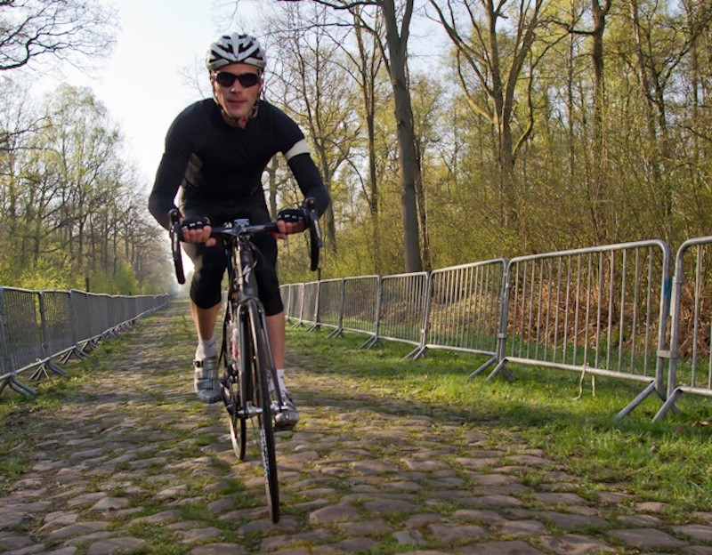 BikeRadar's US Editor, Matt Pacocha, on the cobbles