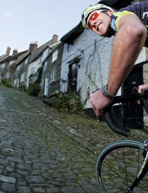 The Gold Hill Honk is a hill climb sprint the famous cobbles