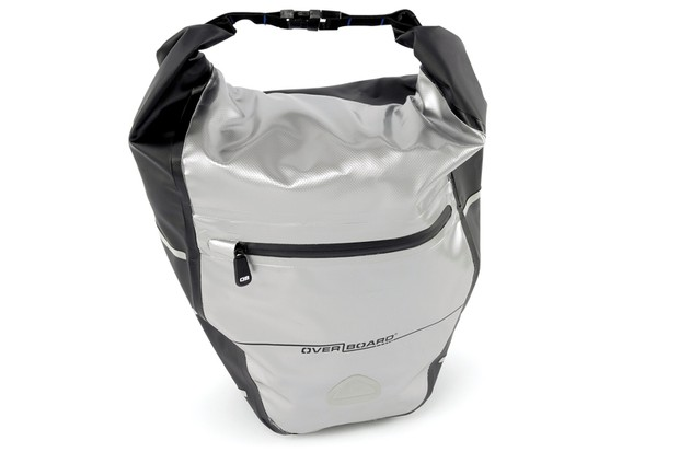 Overboard waterproof rear pannier