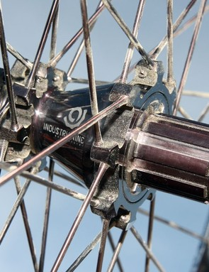 Industry Nine's optional all-black finish includes a black-anodized freehub body instead of the usual silver one