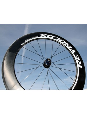 Reynolds adds a new 81mm-deep carbon rim to its range of road wheels for 2012.  Reynolds will offer the new rim profile in matched or mixed sets utilizing the company's own Sixty-Six front wheel