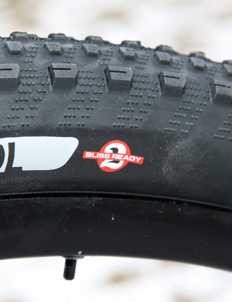 The Specialized Renegade Control 2Bliss tires easily convert to tubeless and seal very well
