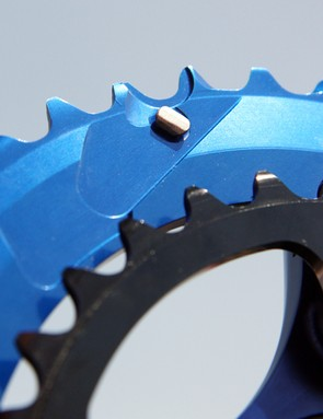 Praxis says their rings offer comparable shift performance to Shimano thanks to intricately shaped teeth and complex pin and ramp systems that are all timed for use with specific chainring combinations