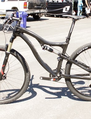 The Racer X 29 Carbon is a cross-country racing machine, with snappier handling than last year's Rockstar