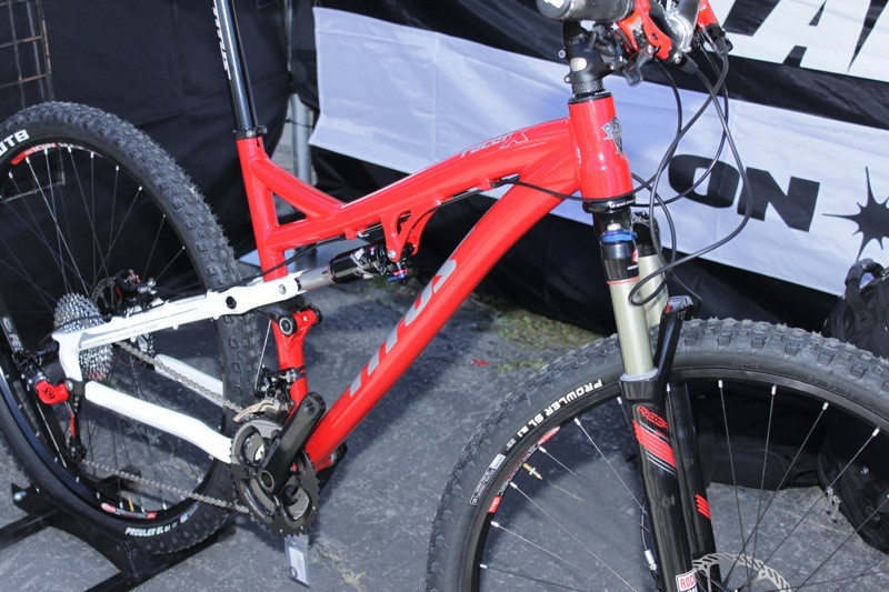 The Racer X alloy models are made by Sapa
